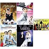 Classic Audrey Hepburn Collection: 4 Movies (Breakfast at Tiffany's / My Fair Lady / Roman Holiday / Sabrina) with Bonus Art