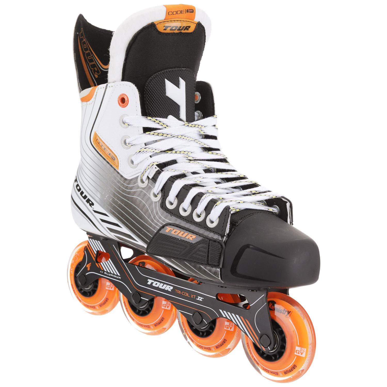 Tour Code 3.One Inline Roller Hockey Skates White Senior Size 9