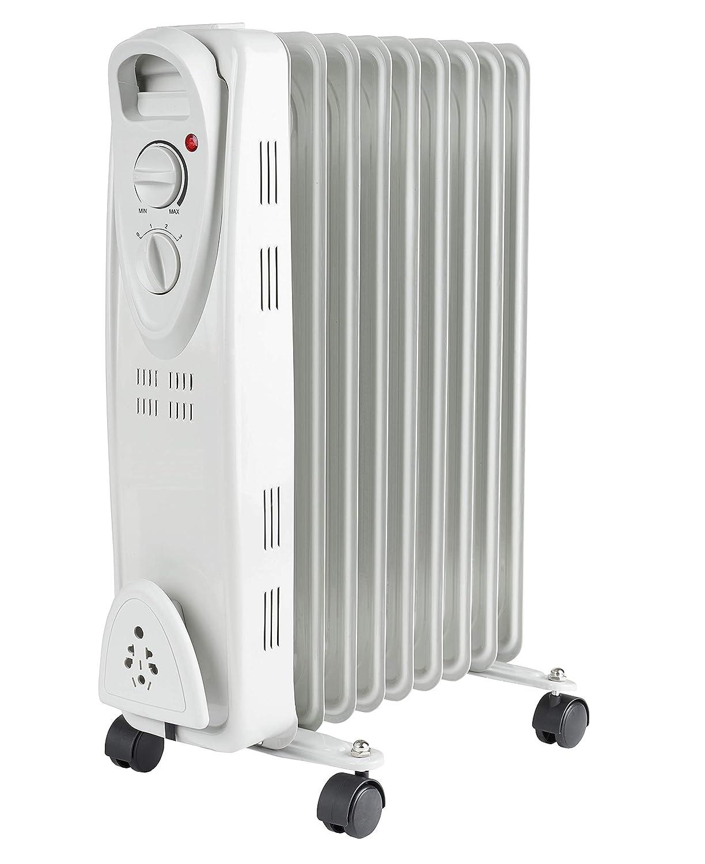 Ö l Radiator mit Fernbedienung | Radiator mit Temperatur Einstellung (15-35° C) | Timer | Elektroheizung | Heizkö rper | Heater | Ö l-Radiator | Heizgerä t | Abschaltautomatik | elektrische Heizung Zilan