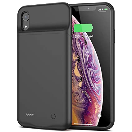 Amazon.com: Funda de batería para iPhone XR, 4000 mAh ...