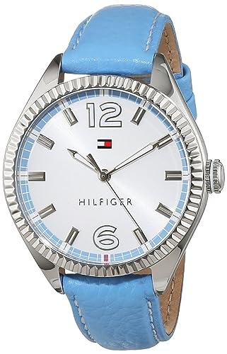 Tommy Hilfiger Damen-Armbanduhr Analog Quarz Leder 1781518