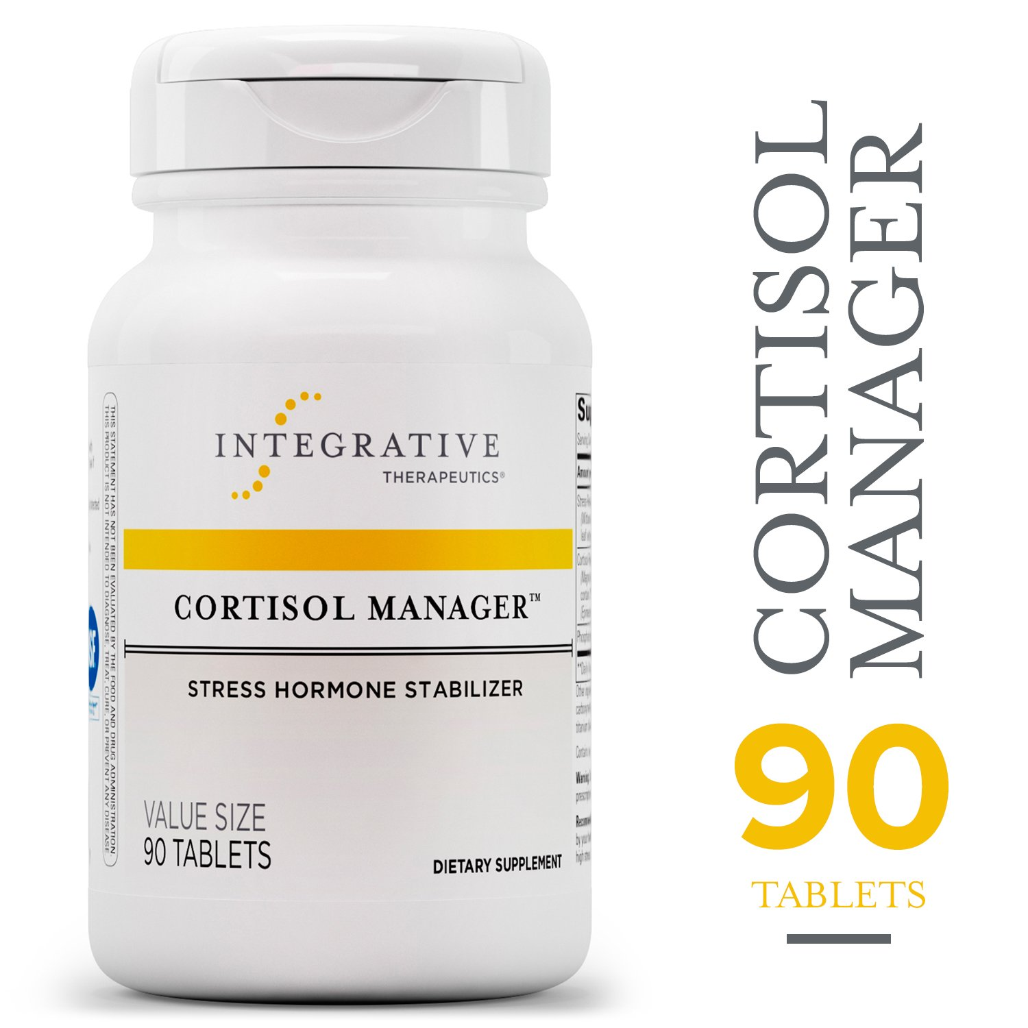 The Cortisol Manager by Integrative Therapeutics travel product recommended by John Breese on Pretty Progressive.