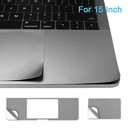 """low priced 0e004 847ae 15 Inch Palm Rest Cover Skin with Trackpad Protector for 2016 Released  MacBook Pro 15"""" Model A1707 with or without Touch Bar & Touch ID - Space  Gray"""