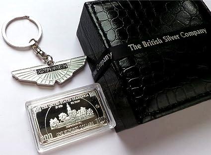 Amazon Com The British Silver Company Aston Martin Silver Chromed