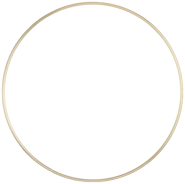 Darice Gold Metal Ring, 8-Inch 1721