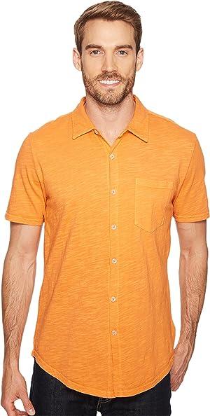 Mod-o-doc Mens Montana Short Sleeve Button Front Shirt