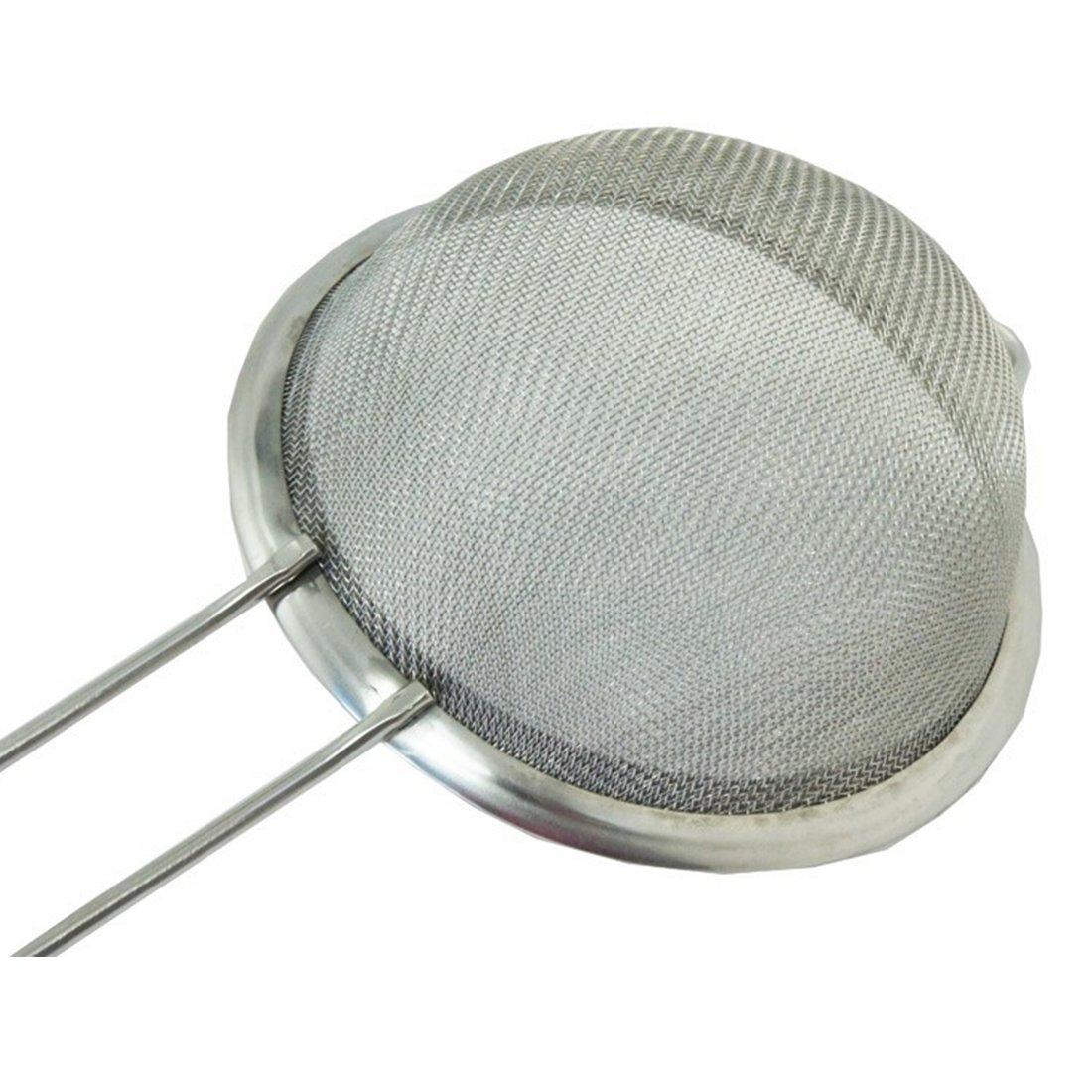 Luwu-Store Filtres fin en acier inoxydable Filtres /à /écran Mesh Filtres /à lhuile Outils de cuisson /à la farine Outils pratiques