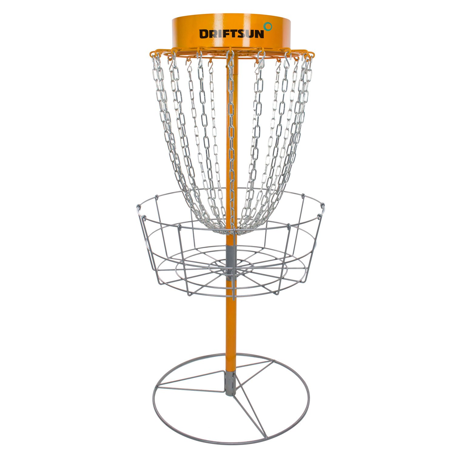 Driftsun Typhoon Portable Disc Golf Basket Goal, Heavy Duty Frisbee Target, Steel by Driftsun