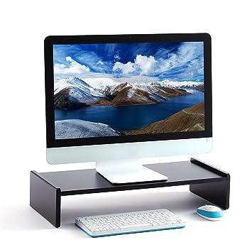 RFIVER Soporte para Monitor Elevador para Pantalla de Ordenador Portátil 55 x 23.8 x 11.5 cm CM1003: Amazon.es: Electrónica