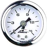 Aeromotive 15632 Fuel Pressure Gauge - 0 to 15 psi
