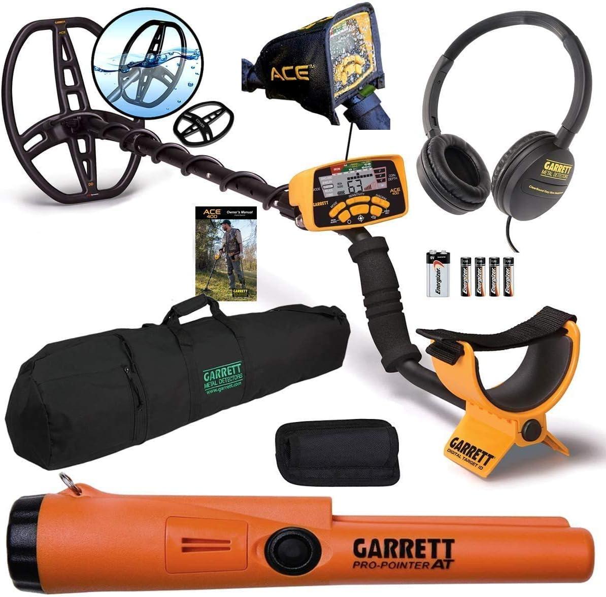 Garett 1138070 ACE 150 /& Garrett 1140900 Pro-Pointer at