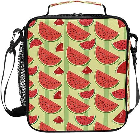 JSTEL - Bolsa de almuerzo, cuñas de sandía, bolsa de almuerzo ...