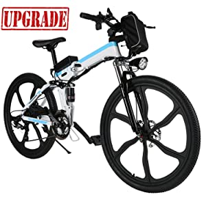 Aceshin 26 inch Electric Folding Bike