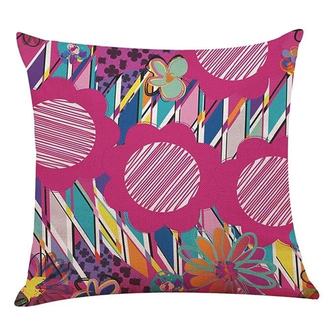 Amazon.com: Abstracto Arte Funda de almohada, d-xinxin ...