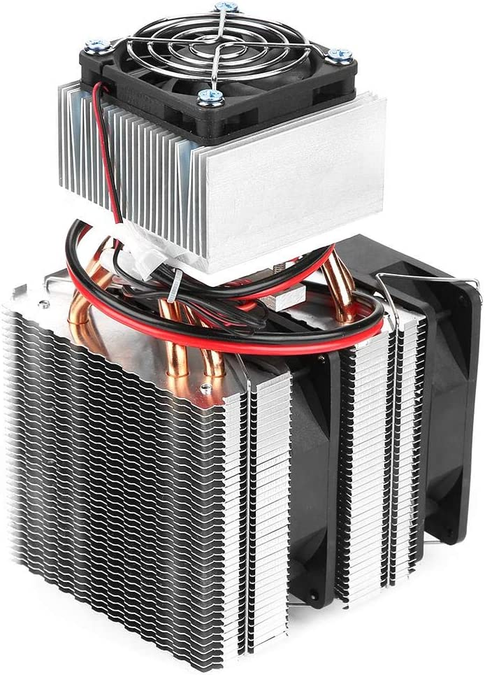 Electric Semiconductor Refrigeration Fan Cooling System 12V Module Device Thermoelectric Cooler DIY Mini Fridge 20L DIY Thermoelectric Cooler