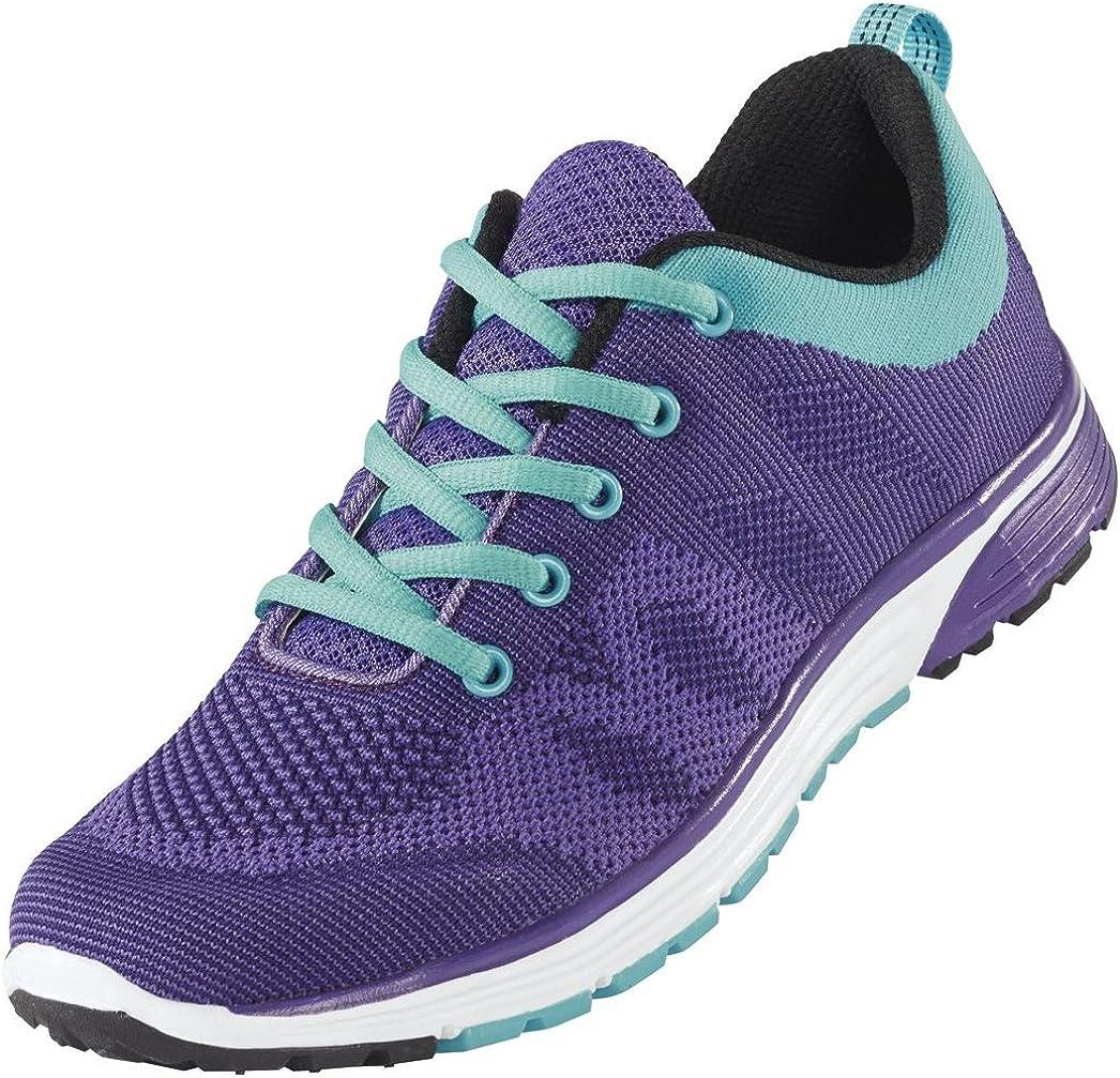 Crivit Sports - Deportivas Mujer, Color Morado, Talla 38 EU: Amazon.es: Zapatos y complementos