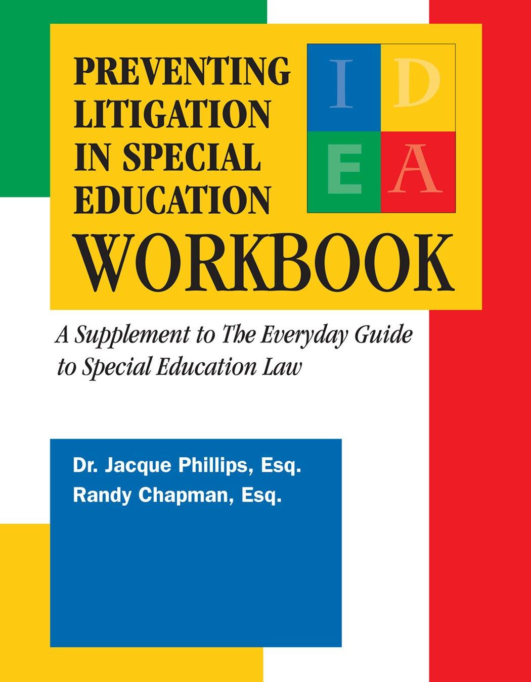 Read Online Preventing Litigation in Special Education Workbook PDF