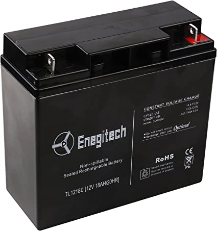 12V 18AH SLA Replacement Battery for Wheelcare Superlight Scooter 4 Pack