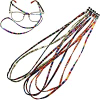 5PCS Sunglasses Neck Cord Strap Eyeglass Glasses String Lanyard Holder Colorful Rope Sports Eyewear Retainer Reading…