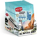 Field Trip All Natural Turkey Jerky, Cracked Pepper, 1 Ounce (12 Count)
