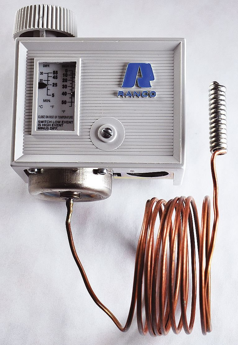 Temperature Control, 0 To 55, SPST