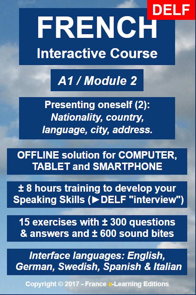 Learn French: Interactive Course - A1 (Beginner) / Module 2: