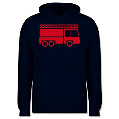 Shirtracer Feuerwehr - Feuerwehrauto - XS - Dunkelblau - JH001 - Herren  Hoodie