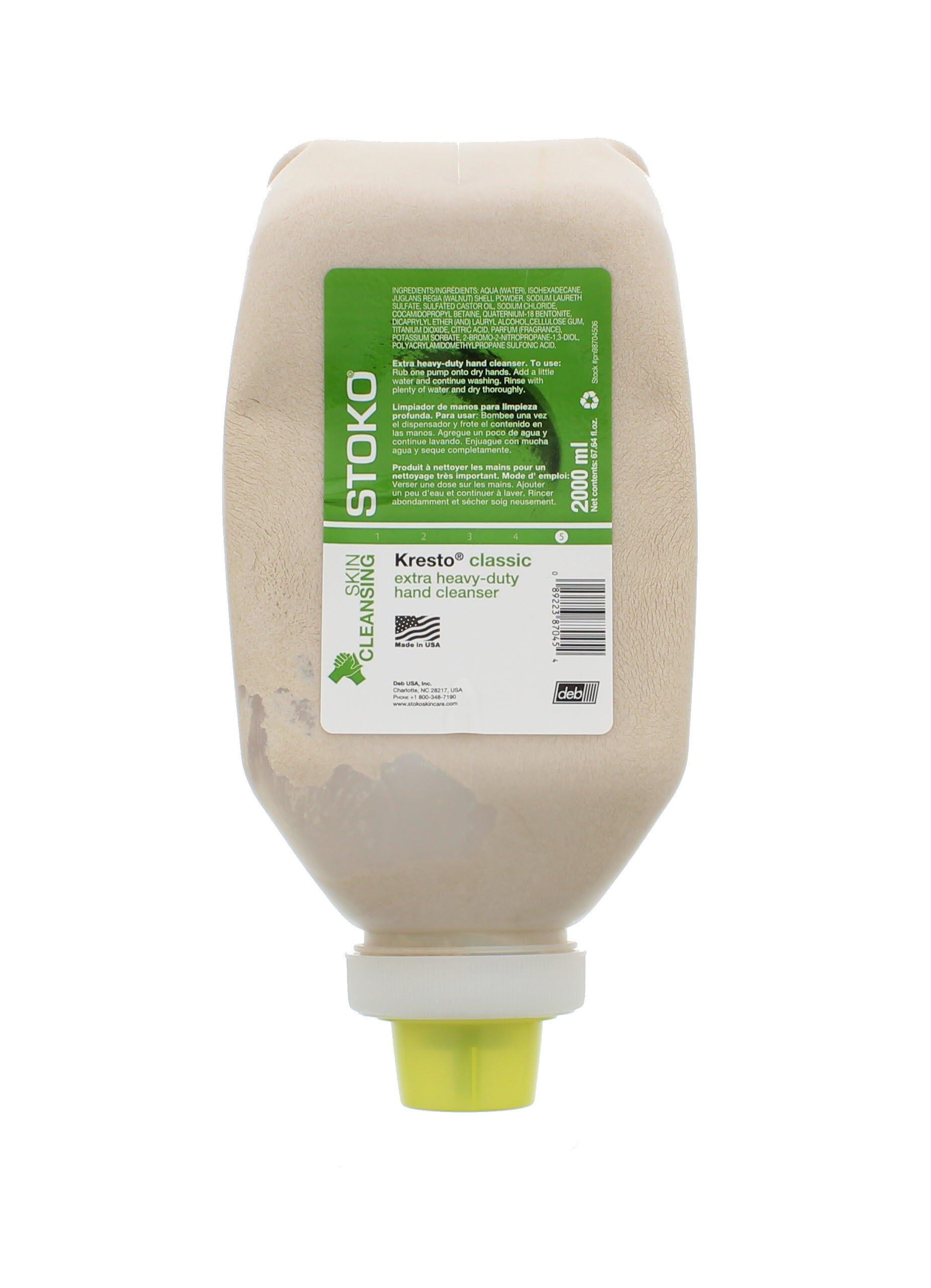 ML Softbottle STOKO Kresto Heavy Duty Hand Cleaner
