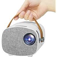 Mini Projector, Lejiada Portable Projector, Outdoor Movie Projector for Children Presents, Home Video Projector 1080P…