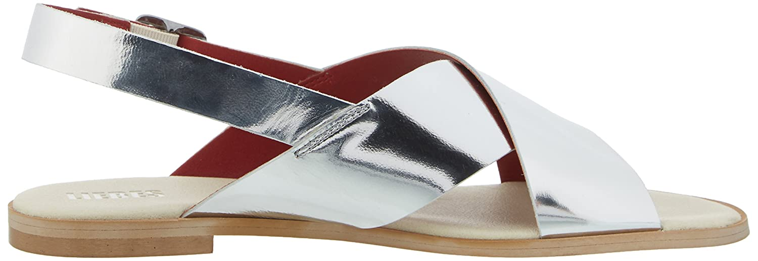 Berlin Liebeskind 39 silver Ls172070 Sandalias Eu Mujer Specch Plateado Para OqHqrdR