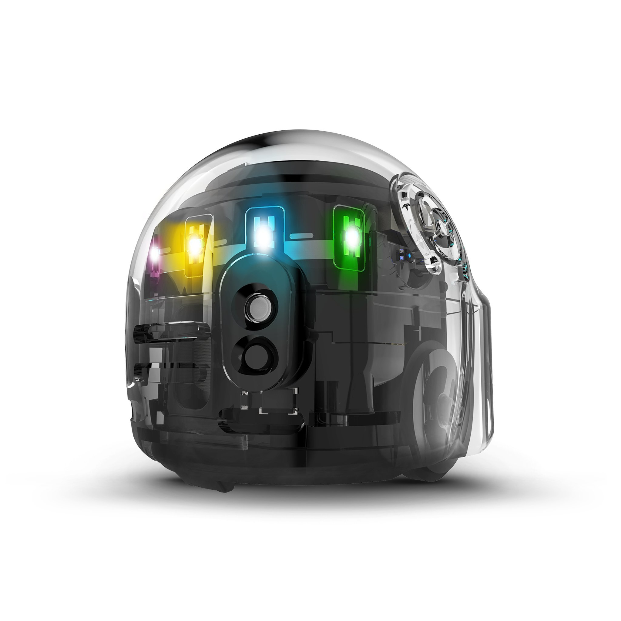 Evo App-Connected Coding Robot (Black) by Ozobot (Image #1)