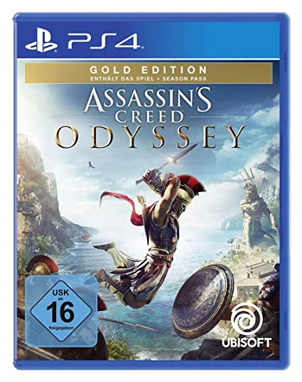 Assassinu0027s Creed Odyssey   Gold Edition (inkl. Season Pass)   [PlayStation  4]: Amazon.de: Games
