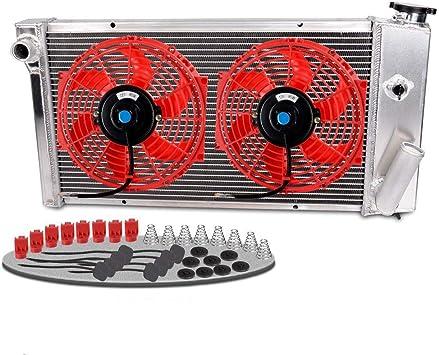 All Aluminum Radiator  FOR 71-77 VEGA//75-76 ASTRE CHEVY SBC V8 SWAP