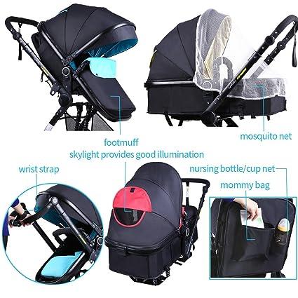 Amazon.com: Carriola para bebé, asiento de carriola ...