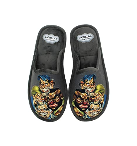 Zapatillas Biorelax - Hombre Equipo A Descalza - Gris, 40: Amazon.es: Zapatos y complementos