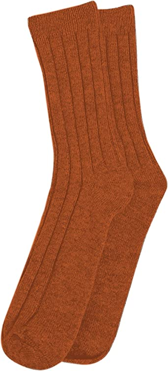 Three Cashmeren Extra Soft Lavishly Warm 100/% Pure Cashmere Sleep Socks for Women