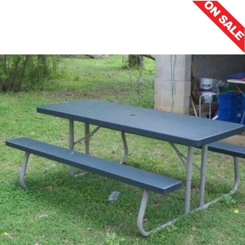Faltbar Picknick Tisch Outdoor Innen-Rasen Garten Yard tragbar ...