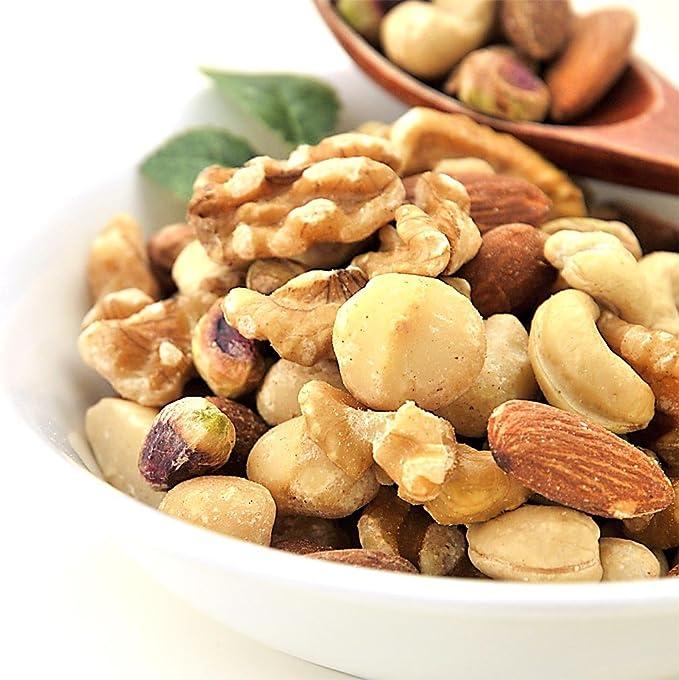 極旨 5種の ミックスナッツ 無添加 無塩 200g 素焼き ナッツ