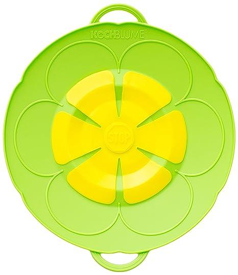 Compra Kochblume Tapa Flor XS, Silicona, Verde, 22 cm en Amazon.es
