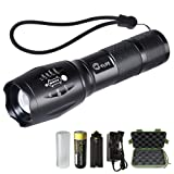 Amazon Price History for:CVLIFE A100 CREE XML T6 LED Flashlight Torch Light with Rechargeable 18650 Battery and Charger