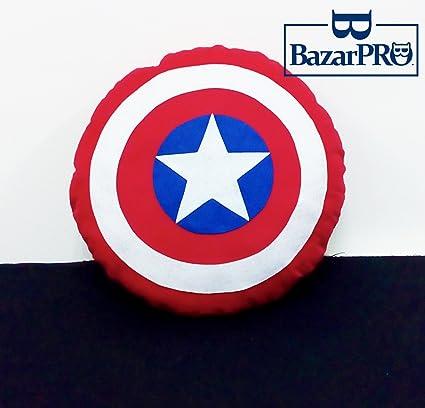 Cojín Escudo de Capitán América - costura & Acabado a Mano ...