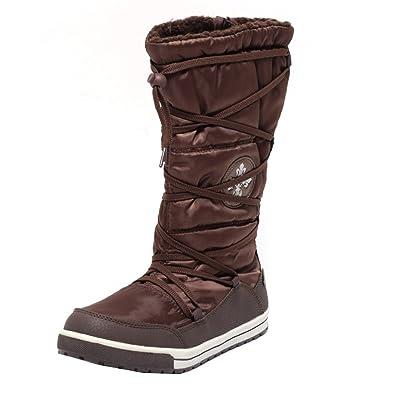 9df3c6e00c7bed Thermostiefel Winterstiefel Schneestiefel Snow Boots Stiefel für Mädchen  Damen Gr. 39 warm gefüttert wasserdicht BRONZE