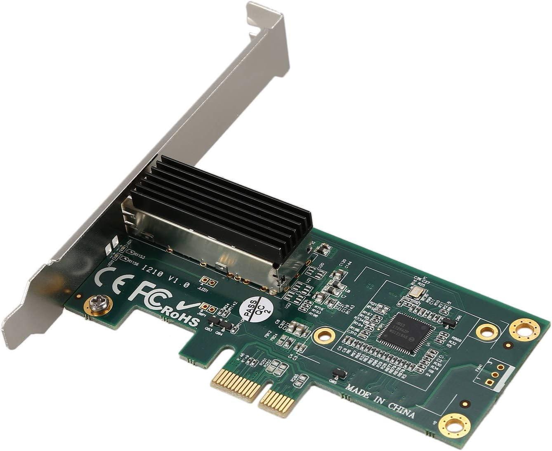 Amazon.com: TOOGOO Tarjeta de red para Intel I210 Chip 1G ...