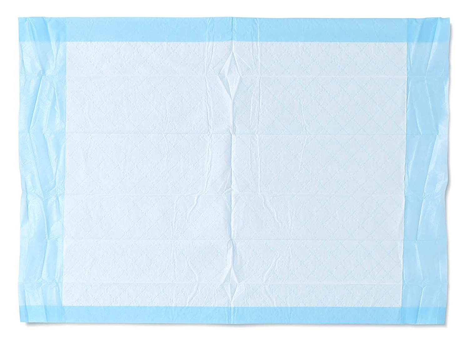 """Medline Ultra Lightweight Tissue and Plastic 17"""" x 24"""" Disposable Underpad, Great for Changing Table and Surfaces, 100 Count"""
