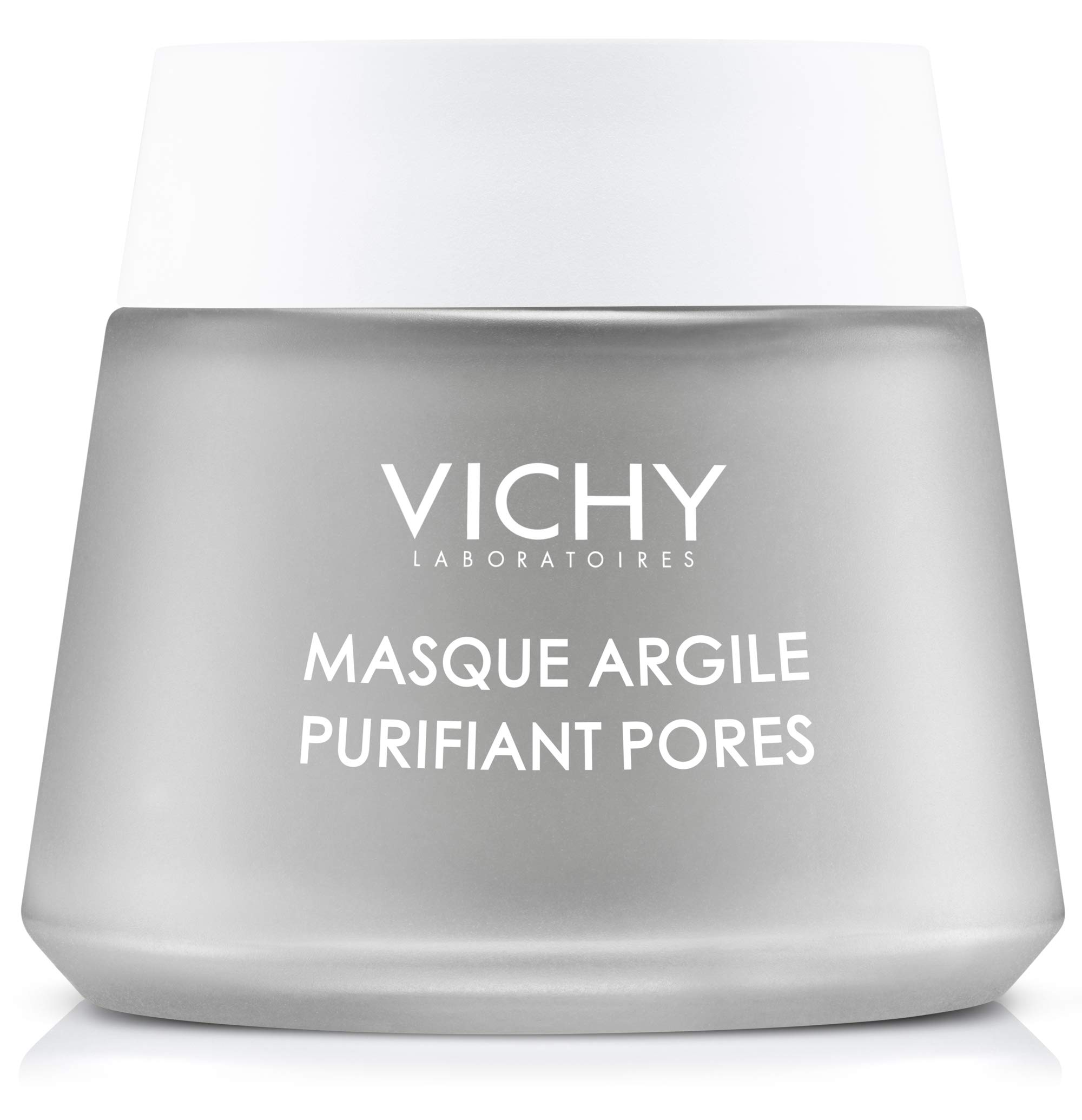 Vichy Pore Purifying Clay Mask with Aloe Vera to Remove Impurities & Soften Skin , Paraben-Free, 2.54 Fl. Oz.