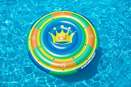 Amazon.com: Swimline Highroller Chip isla piscina inflable ...