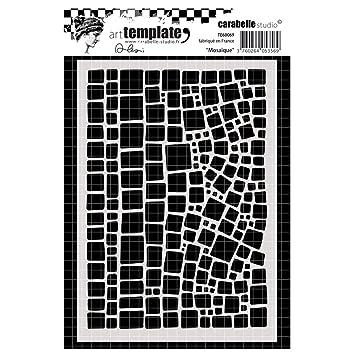 12er Set Schablonen tolle Muster auch für Scrapbook und Mixed Media