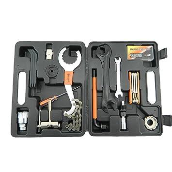 MXBIN 26 en 1 Kit de herramientas de reparación de bicicletas for ...