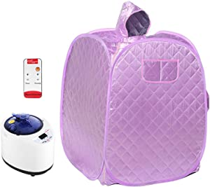 Portable Folding Personal Indoor Spa Steam Sauna, Family Fumigation Machine Steam For Weight Loss, Detoxification, Beauty, Relaxation