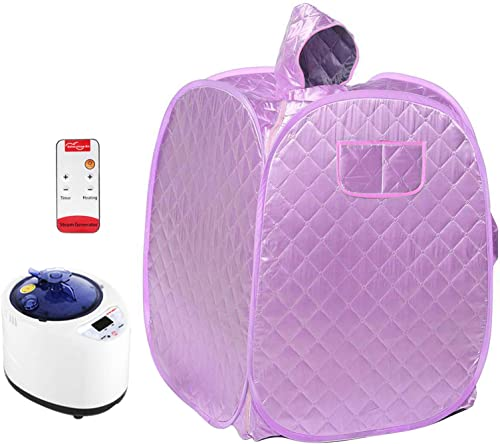 4YANG Portable Folding Personal Indoor Spa Steam Sauna,Family Fumigation Machine Steam